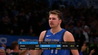 Dallas Mavericks vs San Antonio Spurs | November 18,2019