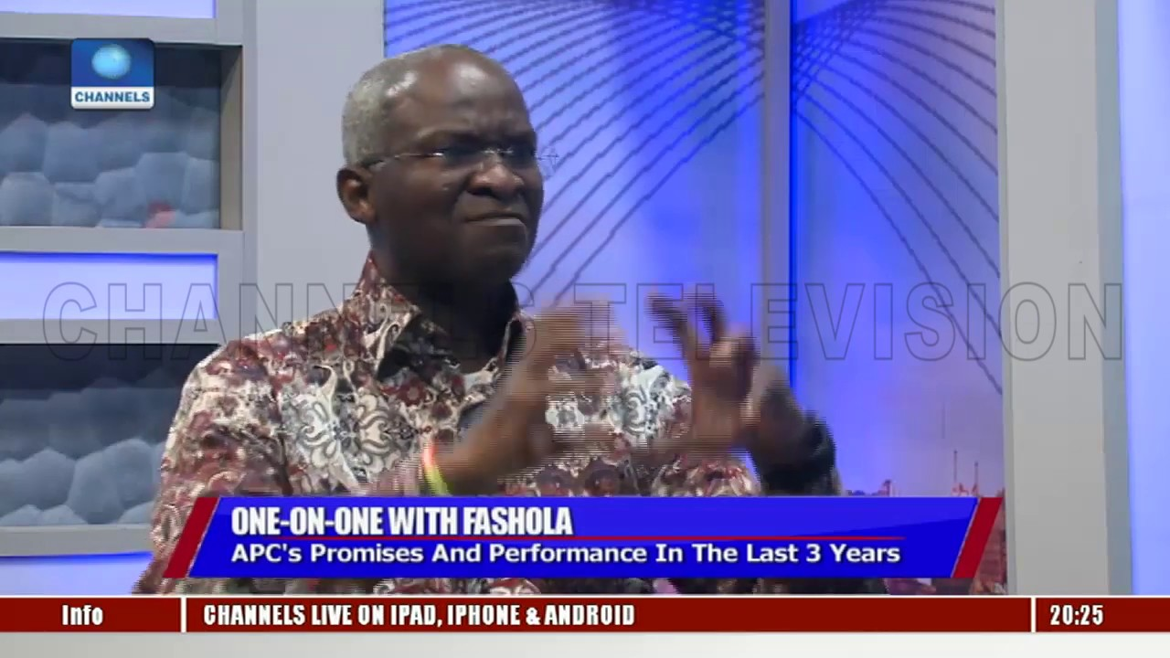 It's 'Unarguable' We Have Improved Power With 'Less Resources', Says Fashola Pt.1  Politics Today 