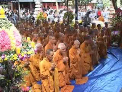 Thiền Viện Thường Chiếu - Lễ Khánh Tuế HT Thường Chiếu - 2010