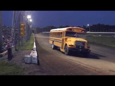 Humboldt Ks. School Bus Race - Sept 3, 2016