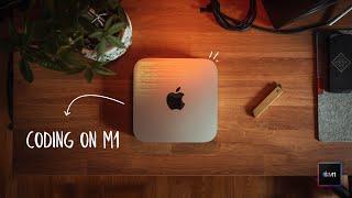 Mac Mini M1 2021 Unboxing & Review Budget Programming Computer