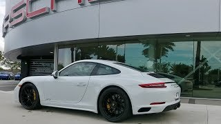 2017 Carrara White Porsche 911 Carrera GTS 450 hp @ Porsche West Broward