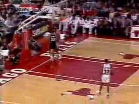 Dennis Rodman trash talking (Dec. 18, 1993, Bulls vs. Spurs)