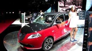 2013 Lancia Ypsilon - Exterior and Interior Walkaround - 2012 Paris Auto Show