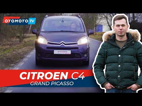 CITROEN C4 GRAND PICASSO - gdzie jeszcze można wstawić szybę?   Test OTOMOTO TV