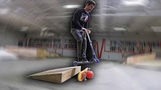 I'm quitting skateboarding..