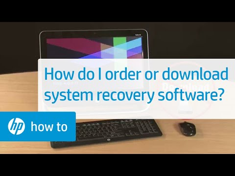 How Do I Order Or Download System Recovery Software?   HP Computers   HP