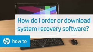 How do I order or download system recovery software?