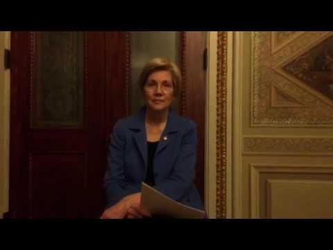 Elizabeth Warren Reads Coretta Scott King Letter about Jeff Sessions