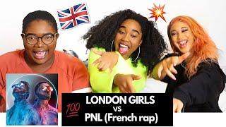 """3 LONDONIENNES RÉAGISSENT AU NOUVEL ALBUM DE PNL """"DEUX FRÈRES"""" - FIRST REACTION TO FRENCH RAP"""