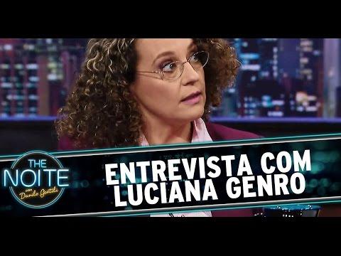 The Noite (15/09/14) - Entrevista com Luciana Genro