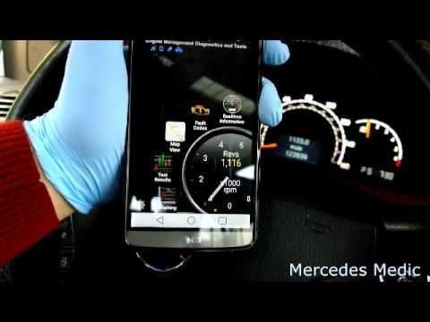 how to use a obd ii bluetooth adapter to reset check engine light on your mercedes benz youtube. Black Bedroom Furniture Sets. Home Design Ideas