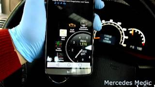 How to use a OBD II Bluetooth adapter to reset Check Engine Light on your Mercedes-Benz