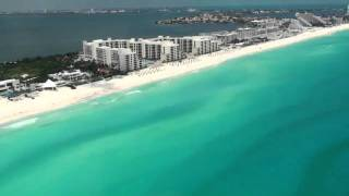 Just Cancun Mexico by air