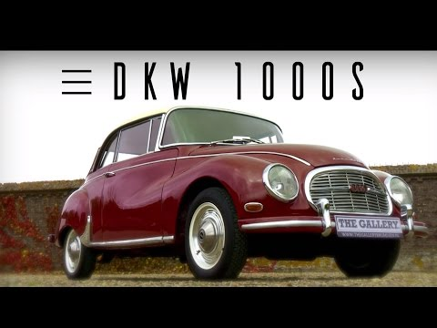DKW AUTO UNION 1000 s 1959 - Modest test drive - Engine sound | SCC TV