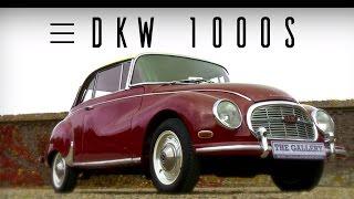DKW AUTO UNION 1000 s 1959 - Modest test drive - Engine sound | SCC TV