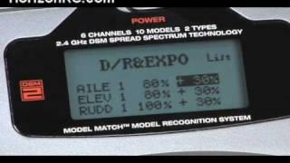HorizonRC.com How-To: First Time Blade 400 Pilots - Try our DX6i Setup