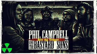 PHIL CAMPBELL AND THE BASTARD SONS - Bite My Tongue (OFFICIAL LYRIC VIDEO)