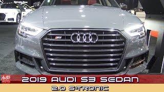 2019 Audi S3 Sedan 2.0 S-Tronic - Exterior And Interior - 2019 Quebec Auto Show