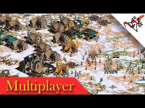 Age of Empires 2 - 4vs4 THE SURPRISE ATTACK | Multiplayer Gameplay