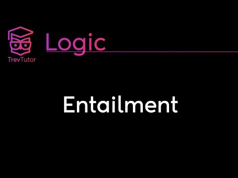 [Natural Deductive Logic] Entailment || Lecture 6