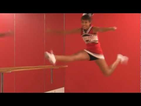 Herkie: Cheerleader How To & Tips For Perfect Jumps And Splits, Cheer With Inez