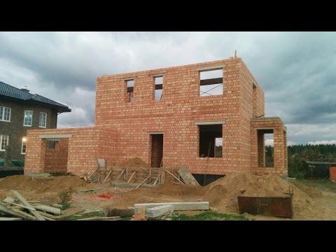 2 этаж (финальный) стройка дома - кладка из кирпича. Как строит хорошая бригадаиз YouTube · Длительность: 9 мин26 с