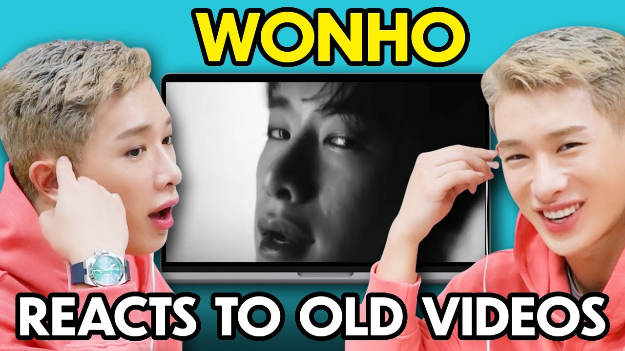 Wonho Reacts to Old Videos