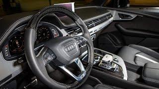 2016  ABT New Audi QS7 Interior detail