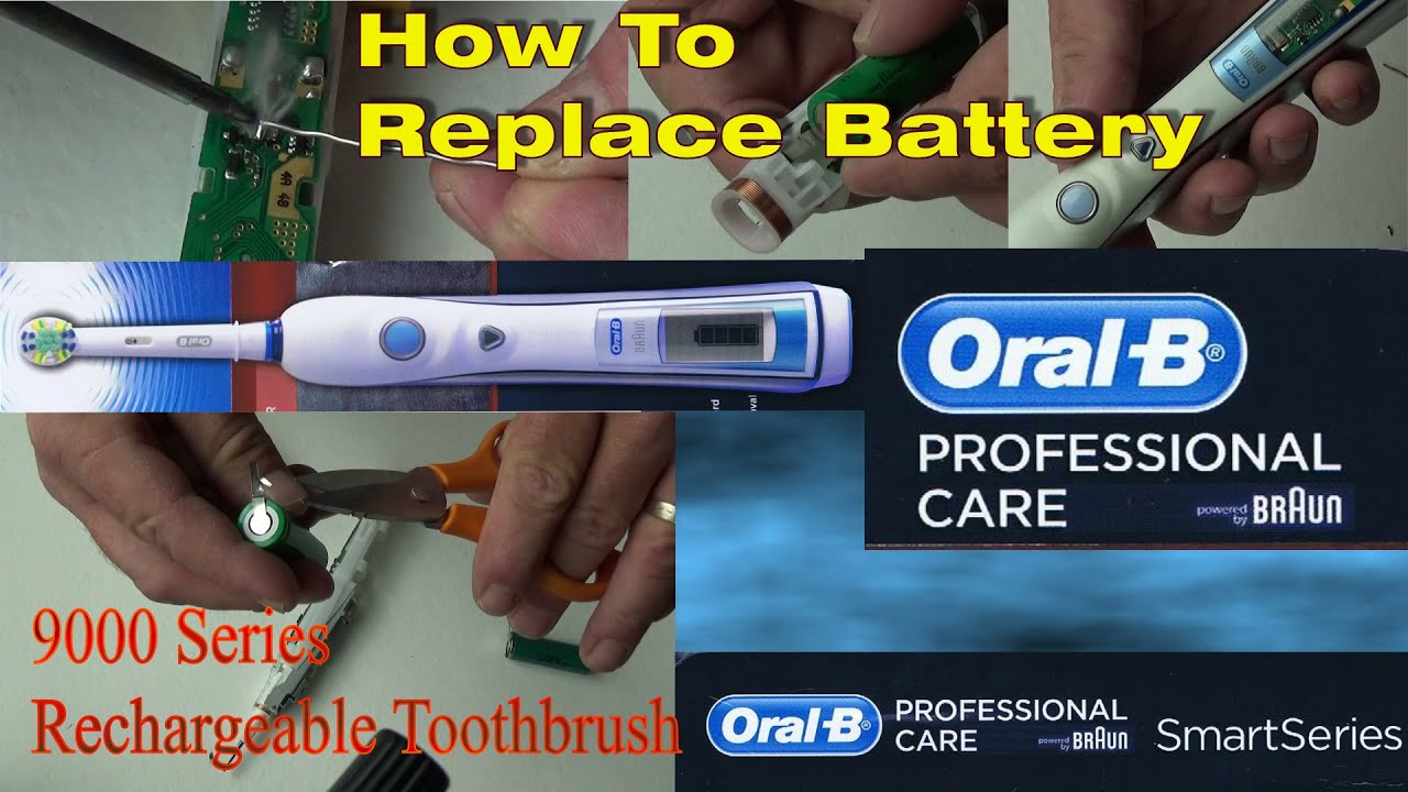 Oral B Battery Replacement On Triumph 9000 5000