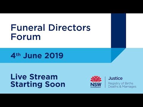 Funeral Directors Forum - YouTube