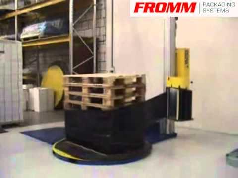 膠膜裹包機(包膜機)FS4xx 歐洲第一品牌 包膜機 膠膜棧板機 裹膜機 棧板包膜機 裹包機 纏繞機 【FROMM富朗包裝 ...