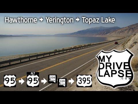Hawthorne, Yerington, Topaz Lake: US 95, 395, Nevada