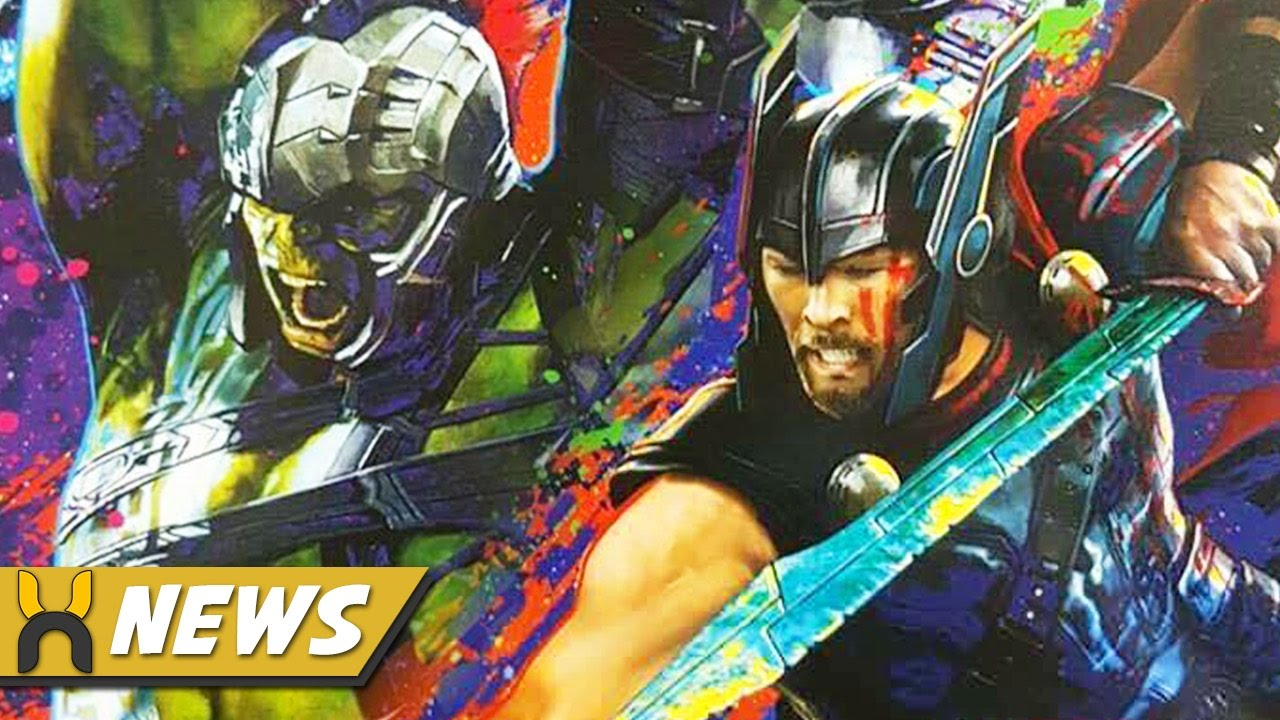 Thor Ragnarok First Look At Gladiator Hulk Thor Armor Youtube