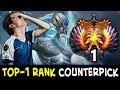 When TOP-1 RANK counterpicks you — Miracle Zeus vs Anti-Mage