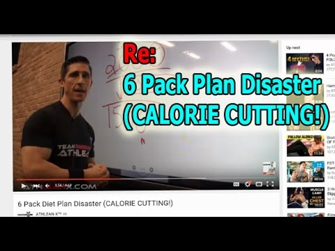 RE: 6 Pack Diet Plan Disaster (CALORIE CUTTING)