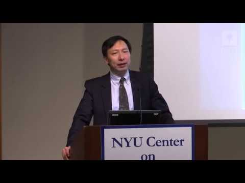 "Prof. Shang-Jin Wei: ""China's Transition to a More Innovation Economy: Will it succeed?"""