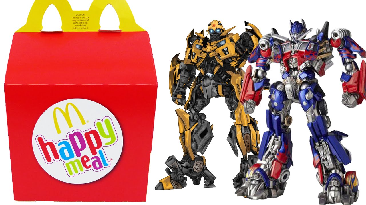 TRANSFORMERS Happy Meal Surprise Toys Optimus Prime ...