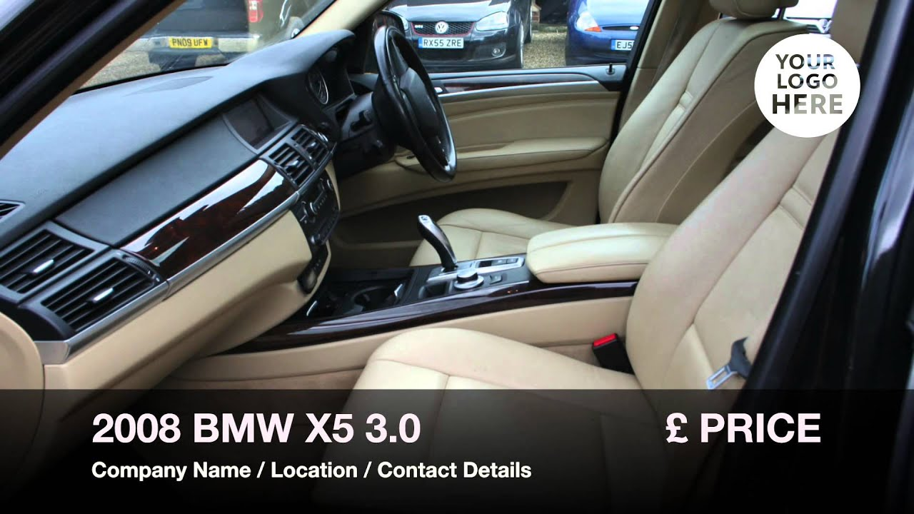 Used BMW X5 For Sale in Salisbury, Wiltshire | 2008 BMW X5   YouTube