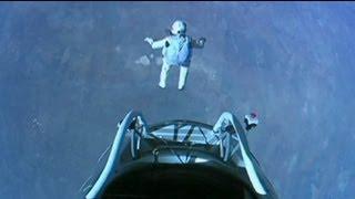 39 bin metreden dünyaya atladı