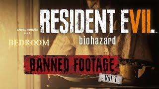 Resident Evil 7 Biohazard Banned Footage Vol.1 DLC Game Trailer