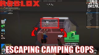 Best way to Escape CAMPING COPS??? | Roblox Jailbreak