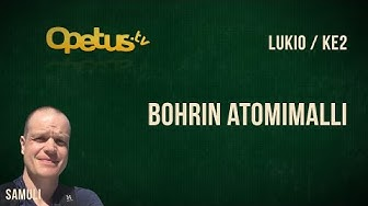 Bohrin atomimalli