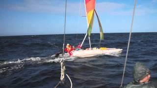 поход на Белое море 2015(Белое море 2015, в этот штормик нам лаговой волной выбило два наружних шпангоута., 2015-08-07T05:29:35.000Z)