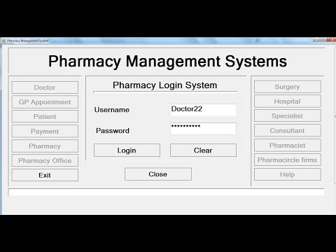 How to Create Pharmacy Management System in Visual Basic.Net - Tutorial 1 of 3