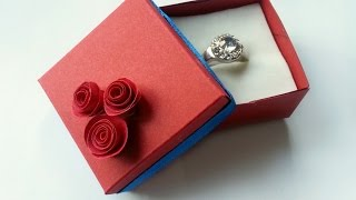 How To Create A Lovely Ring Box - Diy Crafts Tutorial - Guidecentral