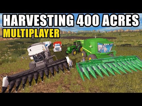 FINISHING CORN HARVEST WITH 400 ACRES LEFT! | EP #19| FARMING SIMULATOR 2017