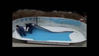 видео Каркасные, надувные и пластиковые морозоустойчивые бассейны для дачи