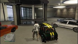 Grand Theft Auto V_ building racing mini cooper