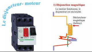 Fonctionnement du disjoncteur moteur